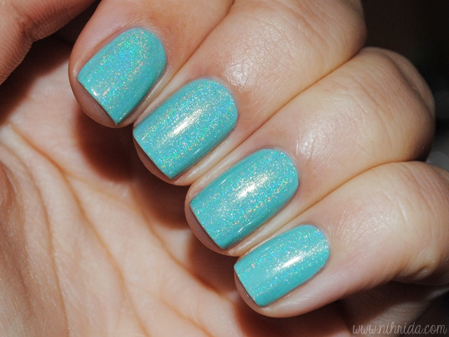 Dance Legend Top Prismatic over China Glaze For Audrey