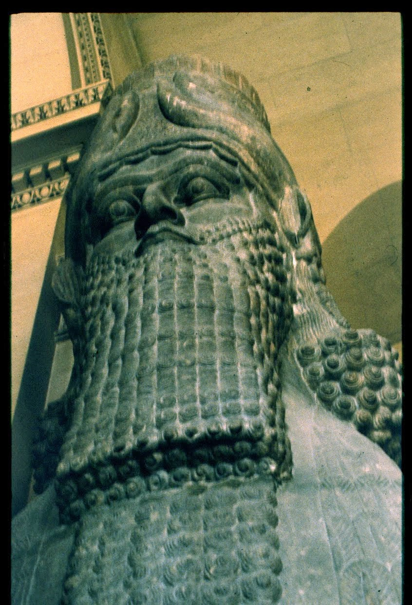 Génie assyrien, région de Mossoul, (IXe siècle av. J.-C).