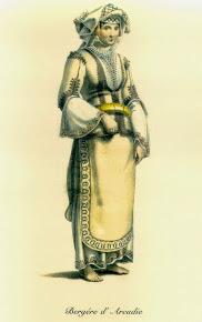 Βοσκοπούλα της Αρκαδίας, O.M. von Stackelberg, 1810-4