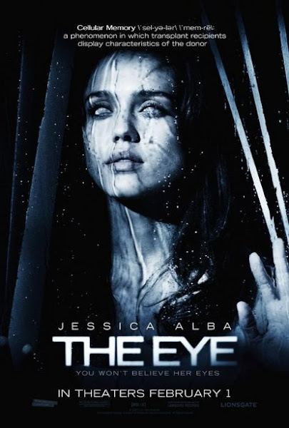 Poster of The Eye 2008 720p BRRip Dual Audio