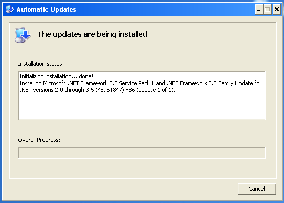 how to make download updates automatic