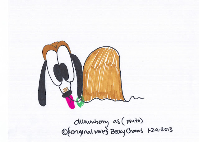 Good Boy Dummberry Woof Woof,2013, dummberry, beckycharms, art, arte, cartoon, illustration, comic, kawaii, Japan, San Francisco, San Diego, New York, lifestyle, style, design, graphic design, graphics, Sharpie,