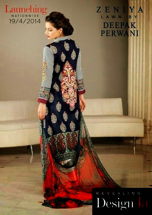 Zeniya Lawn Collection Catalog 2014