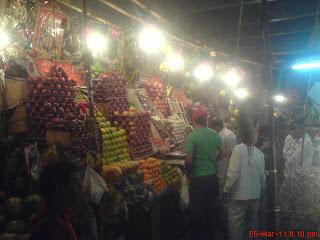 Chembur Fruit market