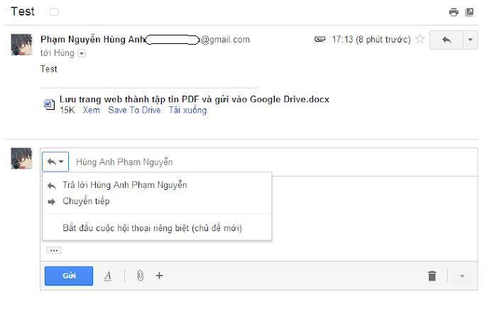 Sử dụng tính năng soạn nhiều thư cùng lúc trong Gmail