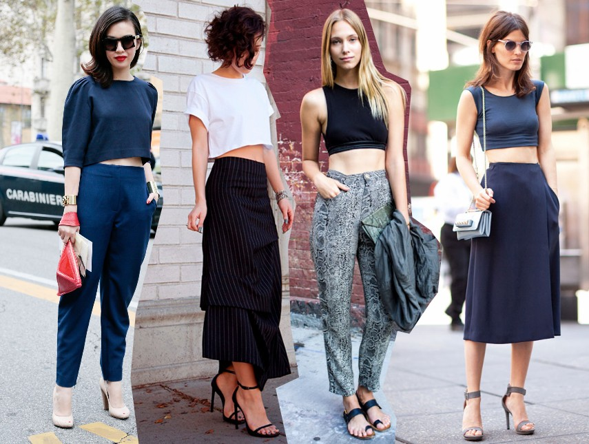 Top Fashion Blog: How To Wear The Crop Top Trend Spring 2014