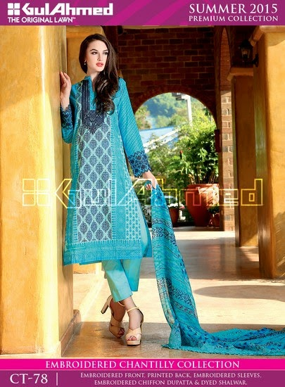 Chantilly De Chiffon Summer Collection by Gul Ahmed 4