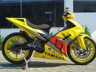 Modifikasi Motor Jupiter Mx Street Fighter