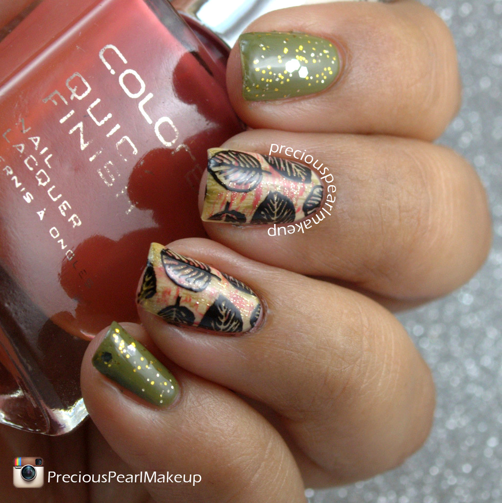 preciouspearlmakeup: Gold Fall Leaves