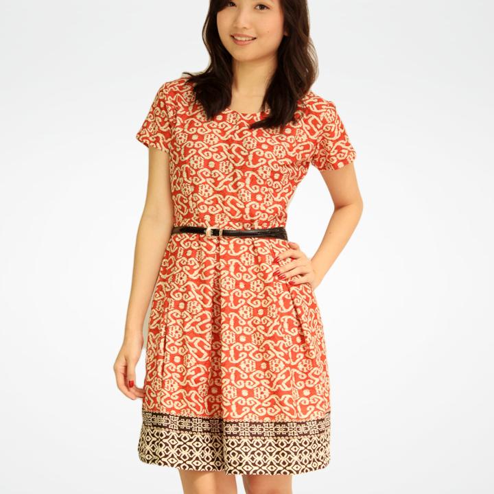 8 Koleksi Model Dress Baju Batik Terkini Batik Indonesia