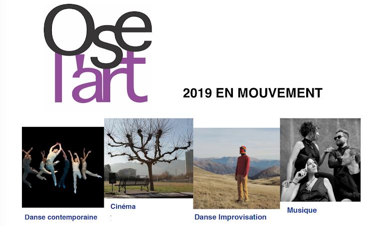 Ose l'art, association culturelle au C.H. Valvert, Marseille 11ème.