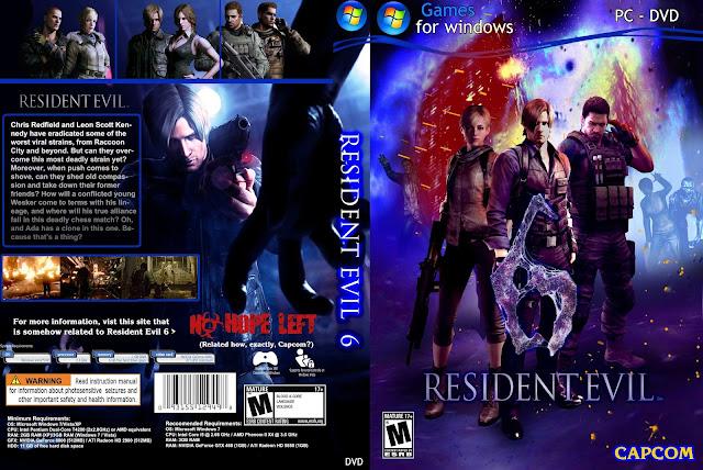 تحميل لعبة Resident Evil 6 برابط واحد مباشر