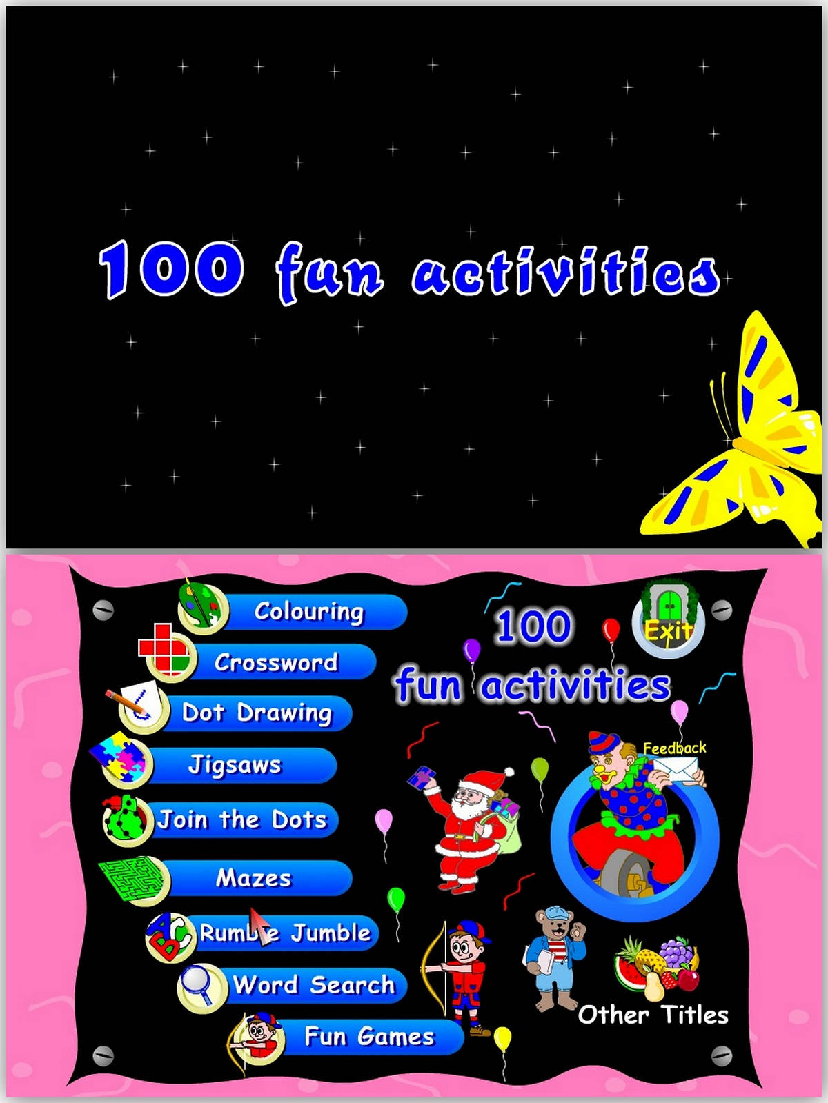 100 fun activities games free download