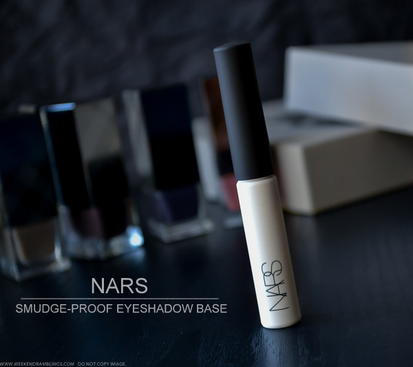 NARS Pro Prime Eyeshadow Base Smudgeproof Makeup Primer - Review