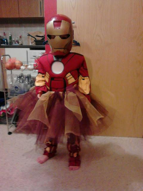 Disfraz creativo: Iron Girl