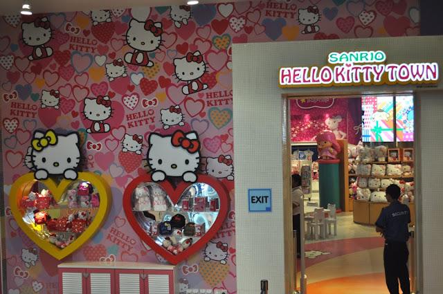 Shopping Tour Of Sanrio Hello Kitty Town Store