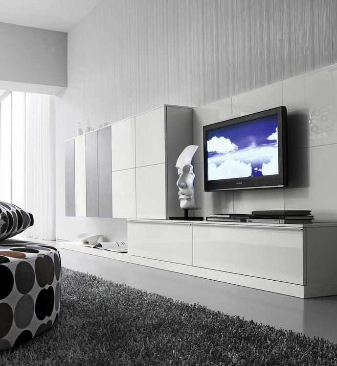 Furniture interior design new compositions of modern for Color tabacco mobili