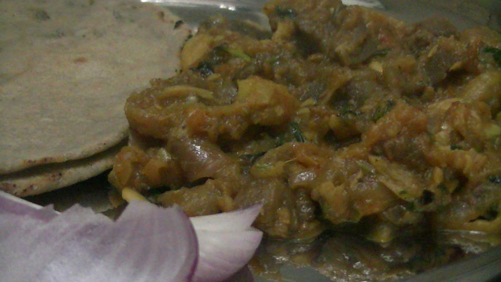 how to cook royal style baingan ka bharta