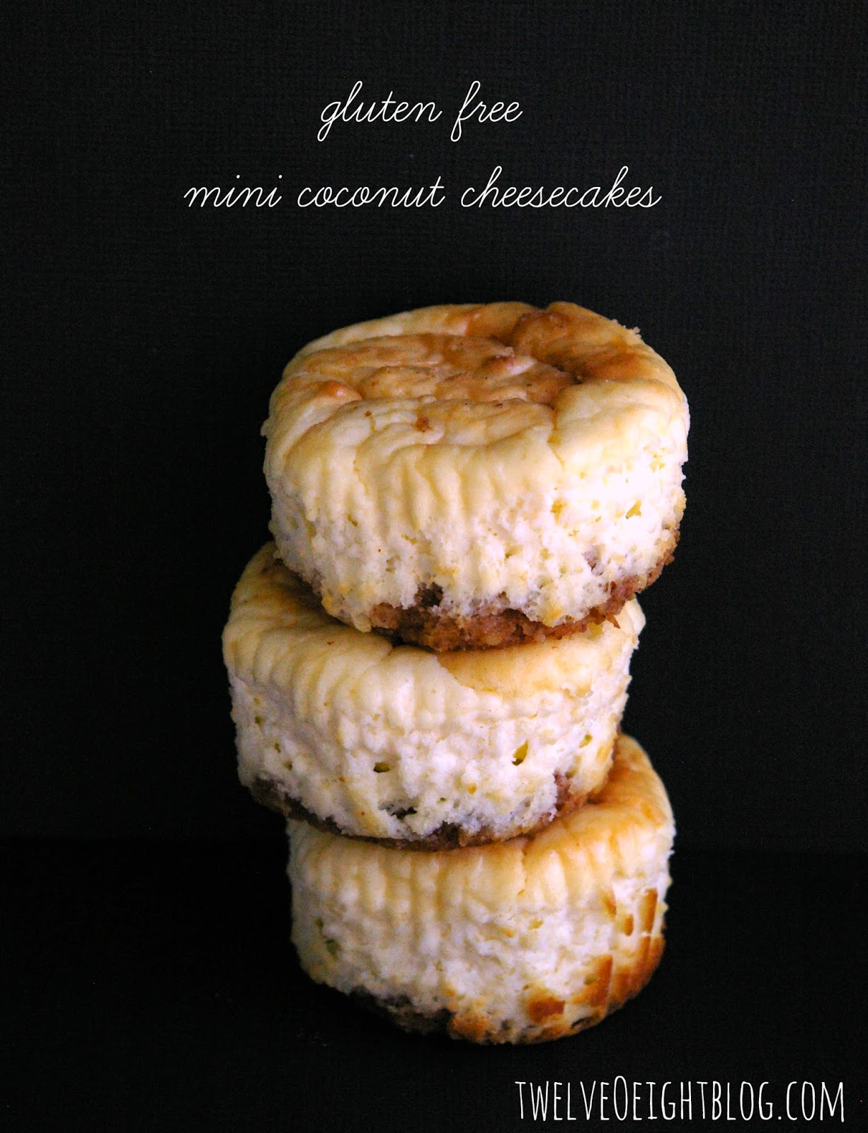 Low Carb Recipes: Mini Coconut Cheesecakes