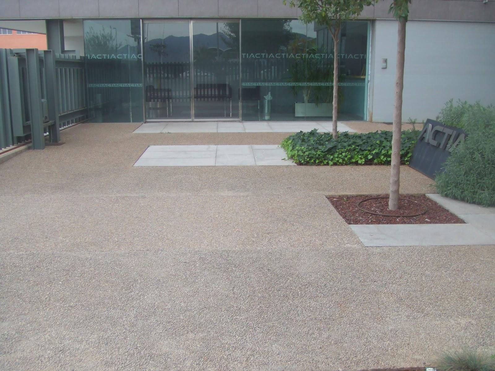 Hormig n desactivado en castell n pavimentos continuos for Hormigon para pavimentos