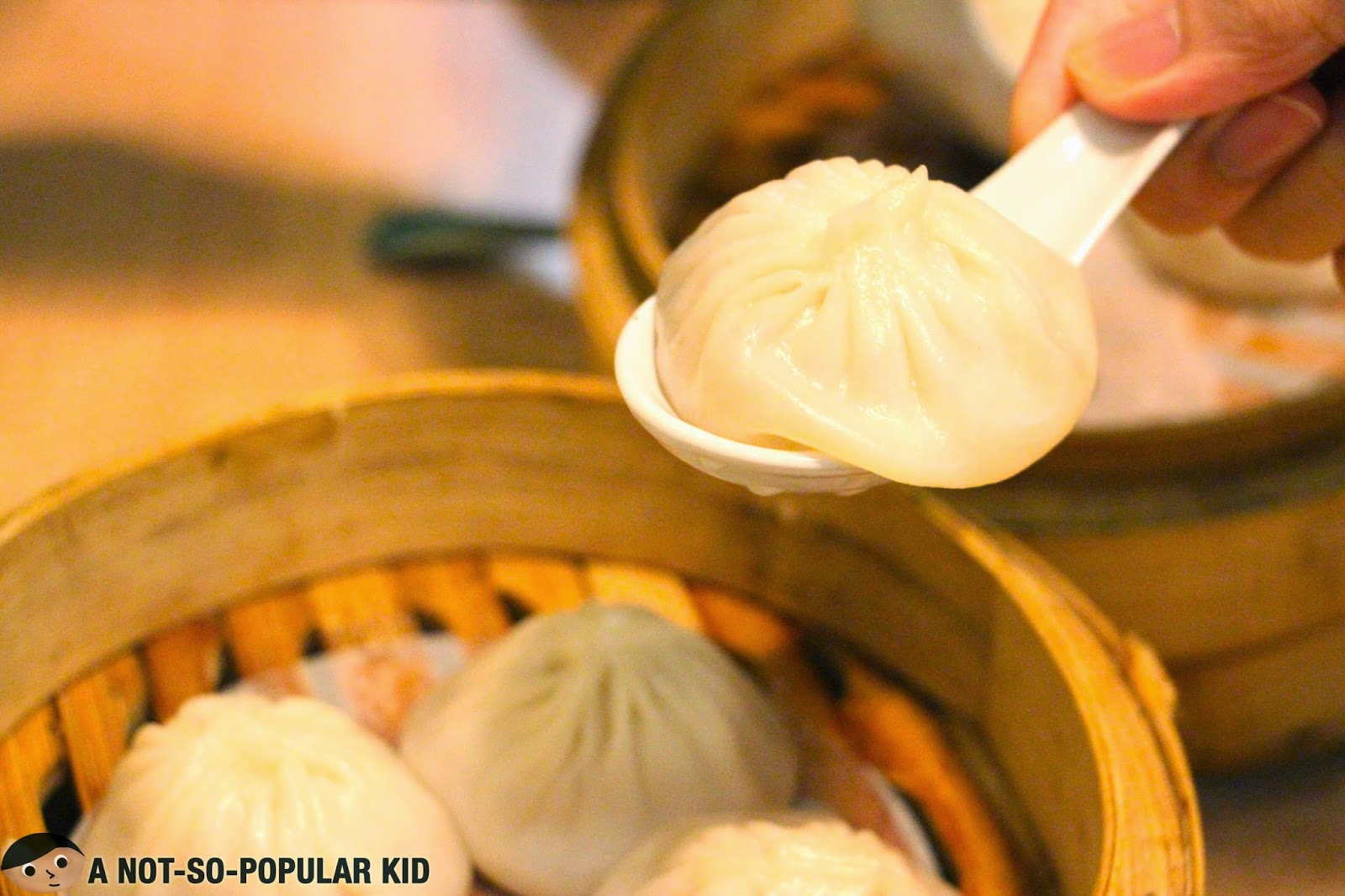 The best-selling Xiao Long Bao of Lucky Rainbow Seafood Restaurant