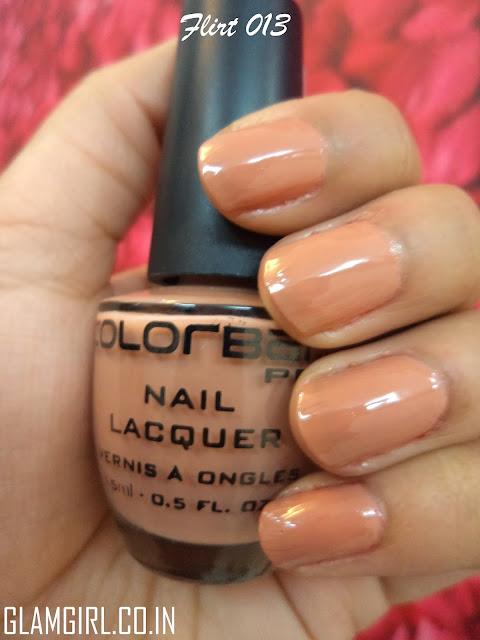 colorbar nail polish flirt 013