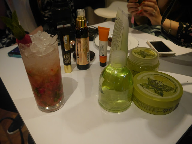 BODYSHOP VIRGIN MOJITO RANGE
