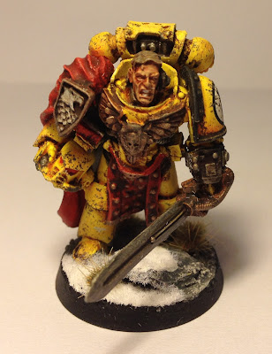 Pre-Heresy Imperial Fists Astartes Captain