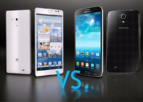 Ascend Mate vs Galaxy 6.3 Mega