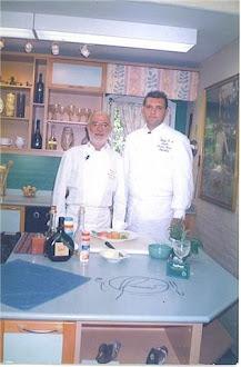 Junto al chef Ramiro Rodriguez Pardo