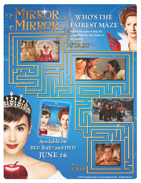 Mirror Mirror Printables!