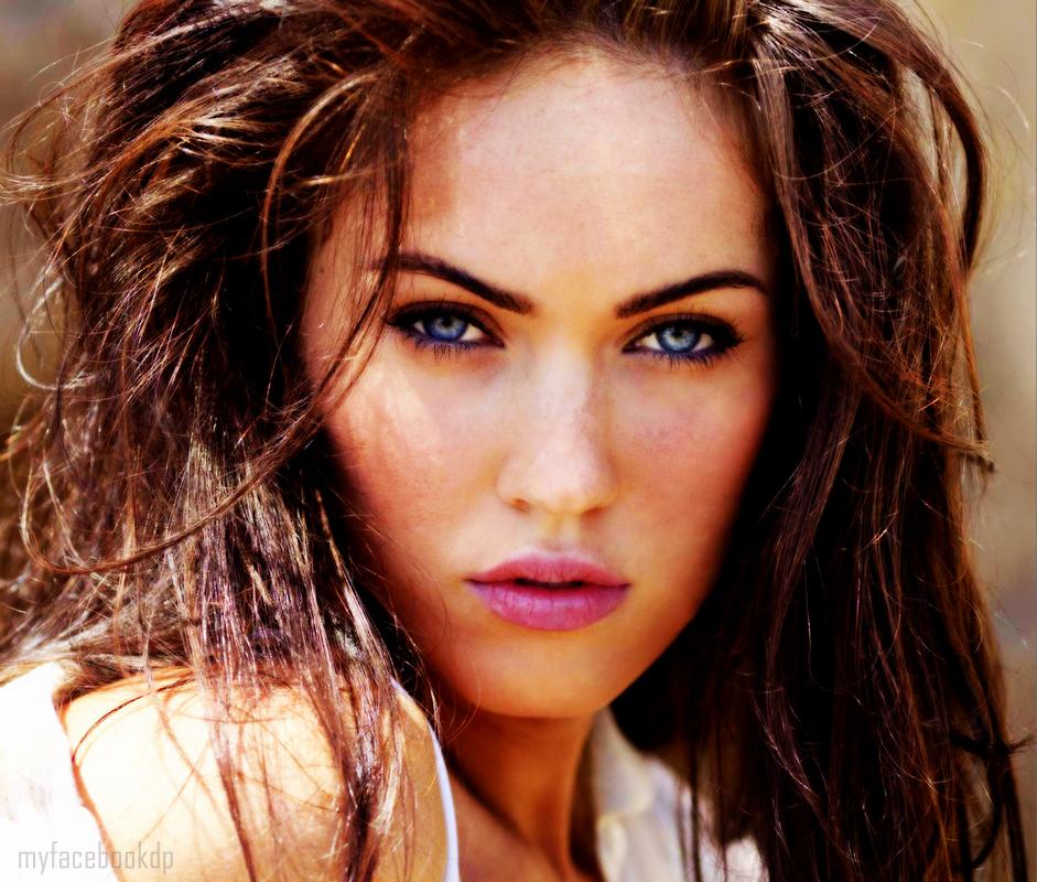 Megan Fox Blue Eyes - Facebook Display Pictures   Youthkorner.com