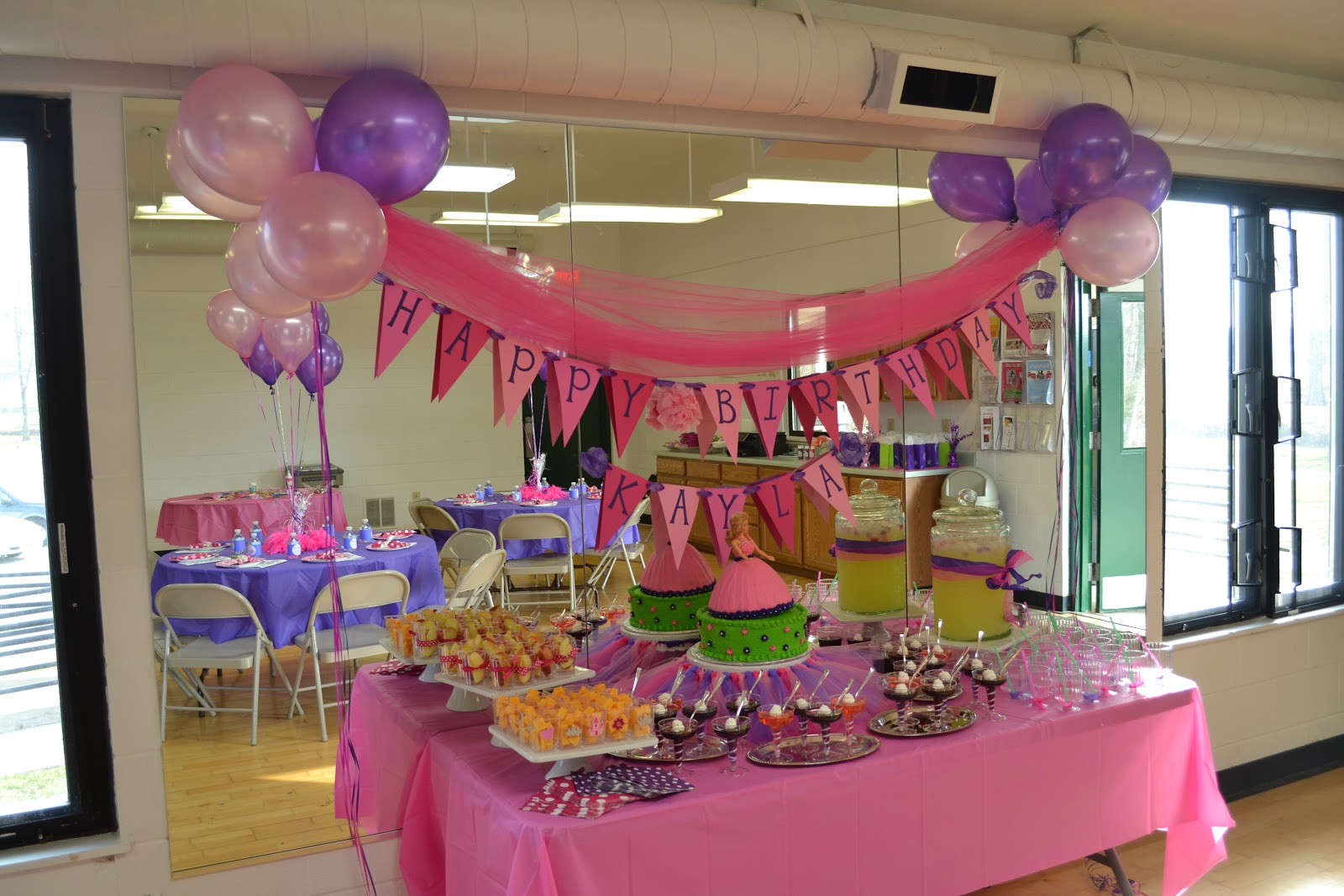 Princess 7th Birthday Party