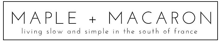 MAPLE + MACARON