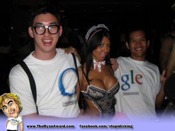 Funny Sexy Google Halloween Costume