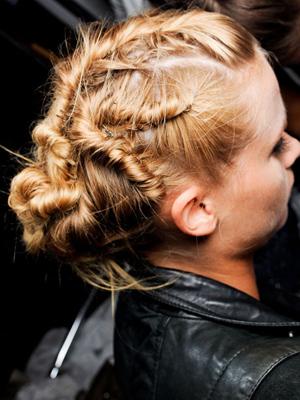 torzadas peinados recogidos