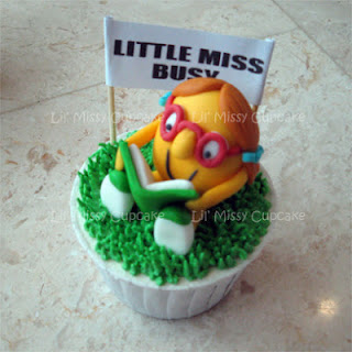 Little Miss Busy cupcake