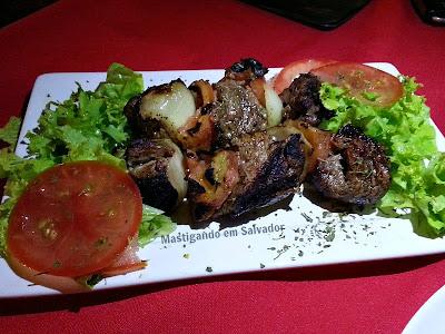 Babaganuche Cozinha Árabe: Michwye de Filé Mignon