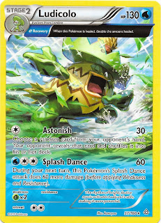 Ludicolo Primal Clash Pokemon Card