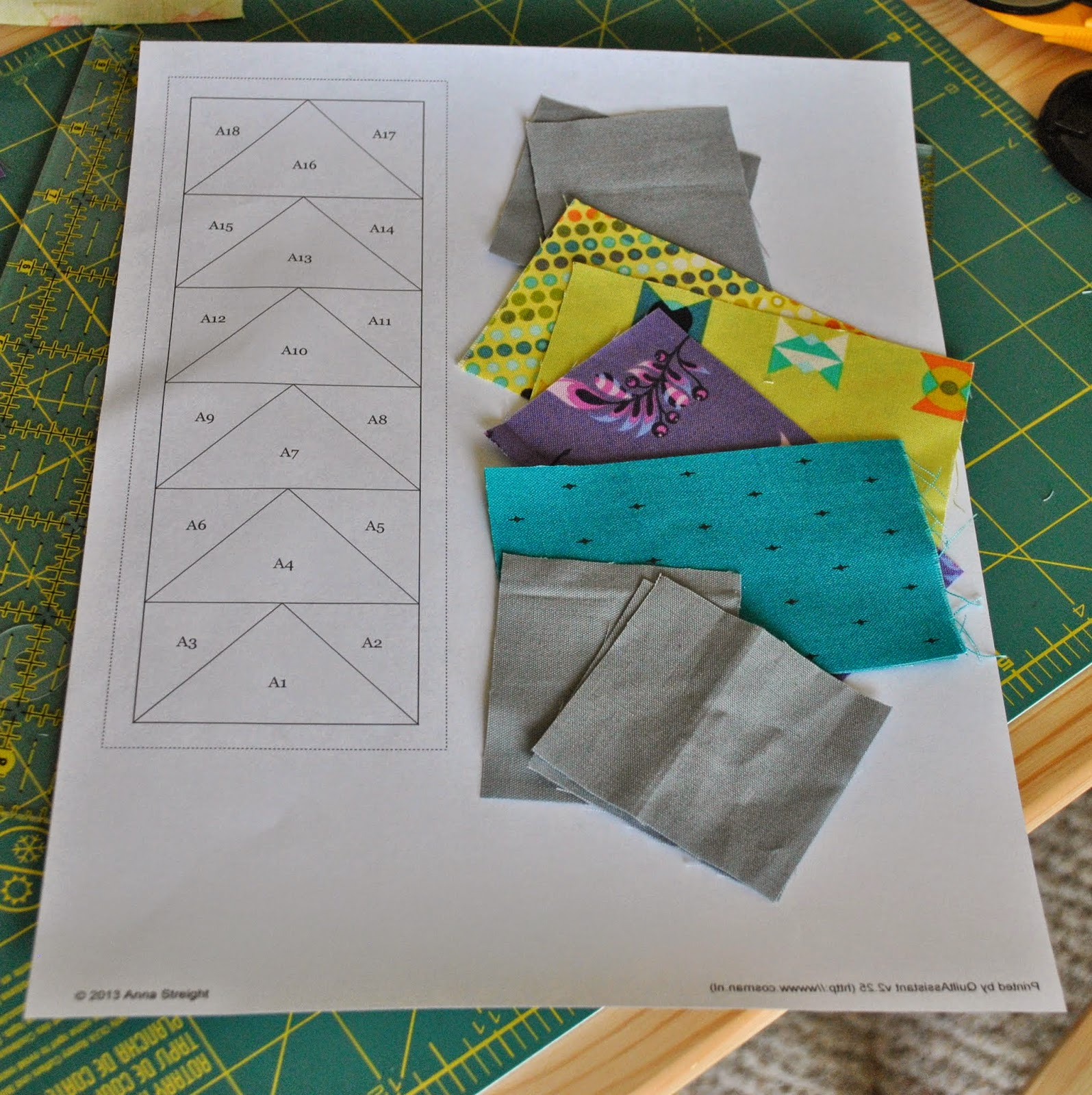 tiny paper pieced flying geese template