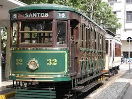 Bonde na Cidade de Santos - SP