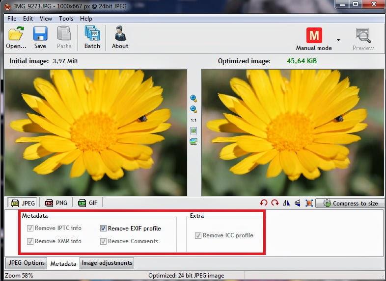 Trabajar los metadatos de imagen en Riot