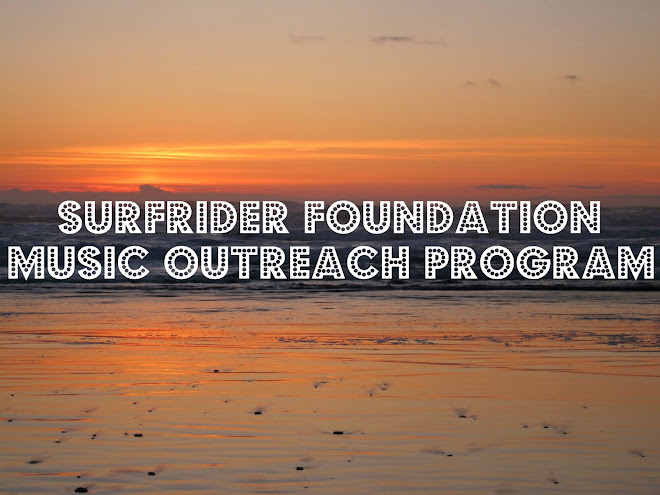 Surfrider Foundation Music Outreach Program