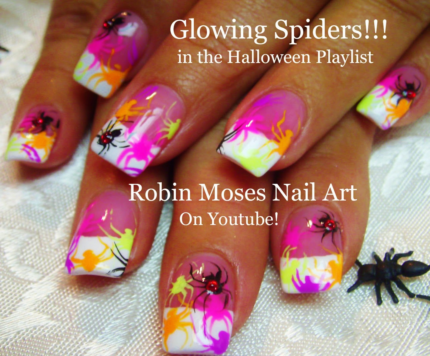 Robin moses nail art grim reaper nails halloween nail art nail art tutorials diy easy halloween nails halloween nail designs for beginners and up solutioingenieria Choice Image