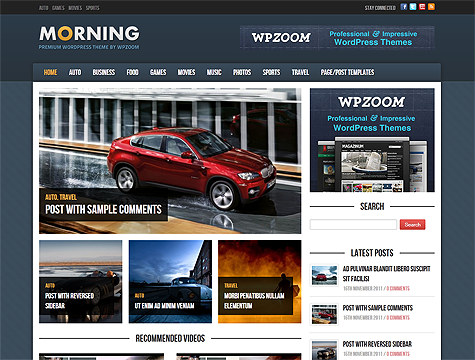 Image for Morning – Premium Theme by WPZoom