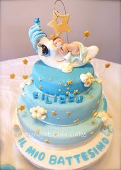 Torta battesimo Bimbo- Filippo e la Luna!