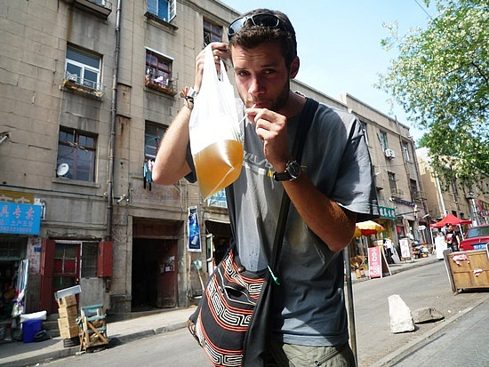 How Do You Drink Beer From A Bag One Sip At Time Photo Courtesy Of Http Www Travelpod Travel Blog Entries Brabzzz 2 1274923893 Tpod Html