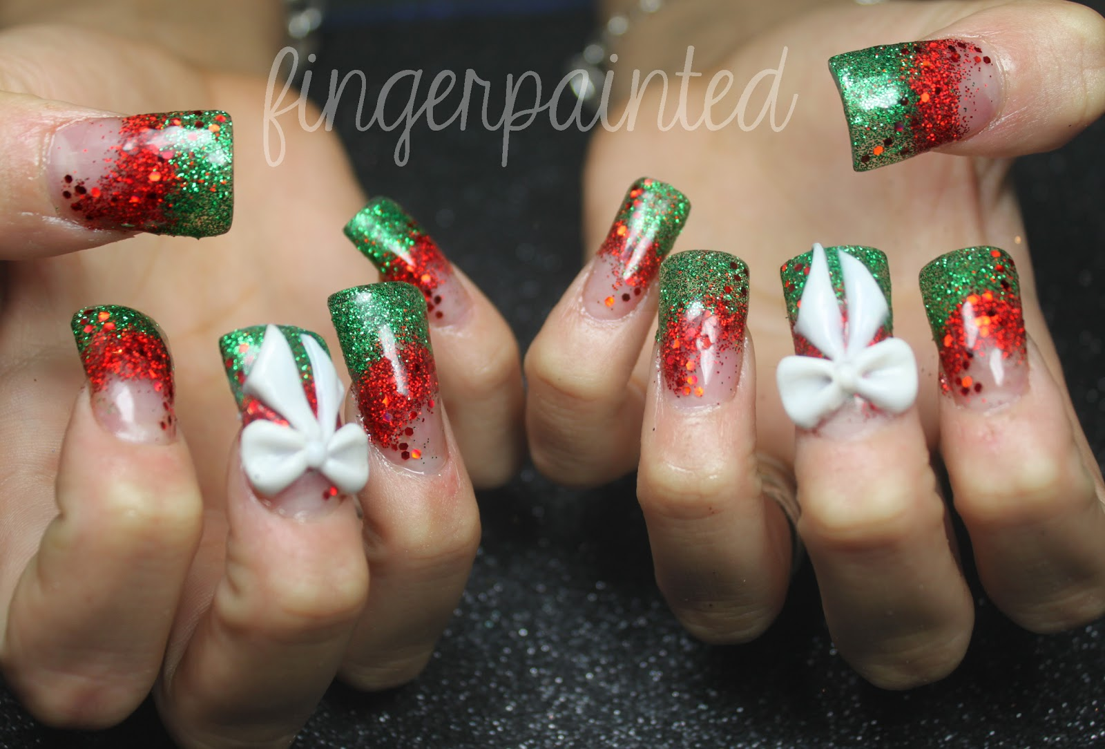 Finger Painted The One With All Christmas Decorations