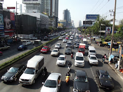 Bangkog traffic jam