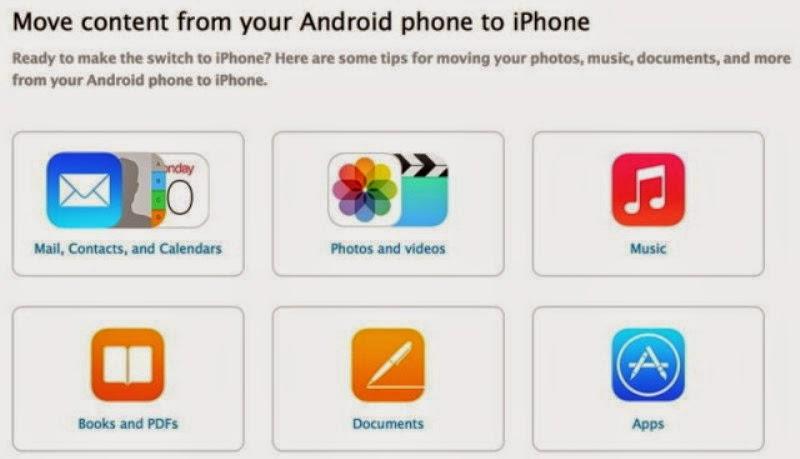 Tips Dan Cara Pindah dari Android ke iOS Dari Apple